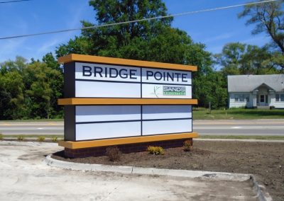 Bridge Pointe Illuminated Sign