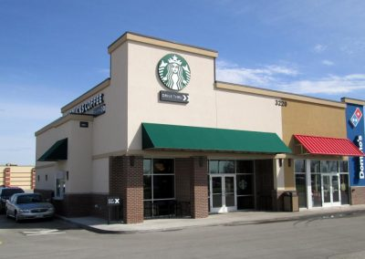 Starbucks Commercial Awnings