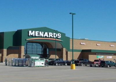 Menards Illuminated Sign