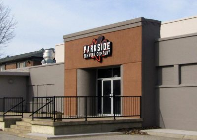 Parkside Brewing Company Illuminated Sign