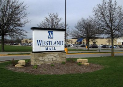 Westland Mall Illuminated Sign