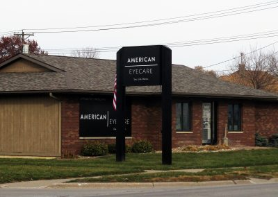 American Eyecare Illuminated Sign
