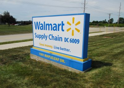 Walmart Illuminated Sign