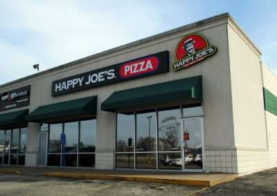 Happy Joe's Pizza Illuminated Sign