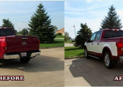 Before and After Vehicle Graphics