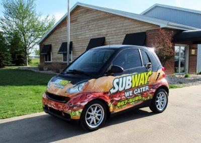Subway Vehicle Graphics