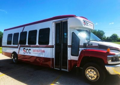 SCC Vehicle Graphics