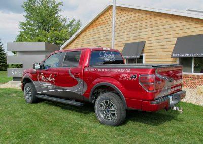 Fowler Logistics Vehicle Graphics