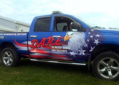 D.A.R.E Vehicle Graphics
