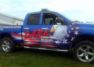 D.A.R.E Vehicle Graphics