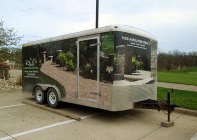 Reid's Landscaping Vehicle Graphics